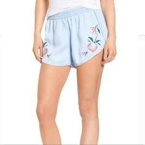 Rails Liam Embroidered Shorts NWT